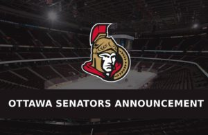 Ottawa Senators Announcement