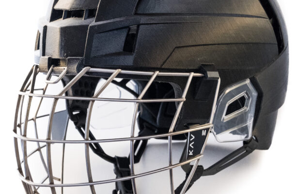 KAV Sports 3D Printed Hockey Helmet