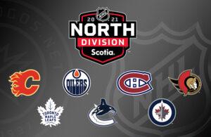 NHL 2021 North Division Logo